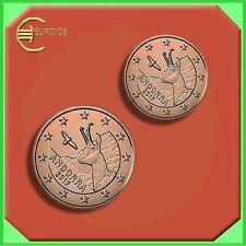 Andorra 1 + 2 Cent Kursmünzen 2017, bereits sehr gesucht