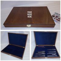 Cofanetto per 20 Penne da collezione PERSONALIZZATO Expositor para Bolígrafos