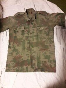 Camo uniform South African 1st pattern shirt XL