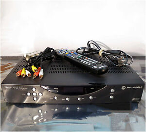Motorola Shaw DCT2524/1631/AL CATV Converter with Remote Control