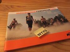 KTM 2003 Powerwear vêtement moto prospectus catalogue brochure prospekt catalog