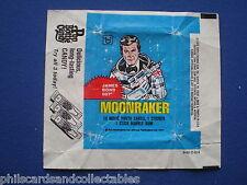 James Bond 007 Moonraker  Bubblegum Card Wrapper    1979   U.S. Issue - Topps