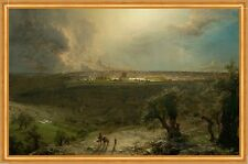 Jerusalem from the Mount of Olives Frederic Edwin Church Israel City B a2 01913