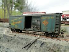 Ho Bowser Custom Hand Weathered Rolling Stock Tpw Toledo Peoria & Western 634