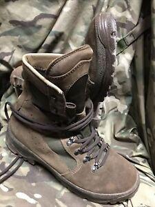 Genuine British Issue Brown Desert Meindl Boots!excellent/Grade 1!size 9 M
