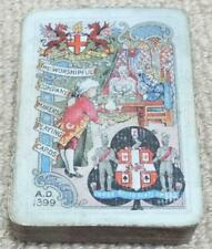 More details for worshipful company of playing cards antique 1899 deck of cards