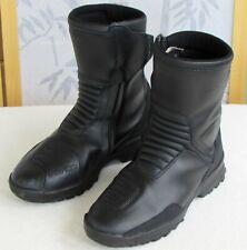 41 | Forma Men Black Leather Drytex Waterproof Motorcyle Boots