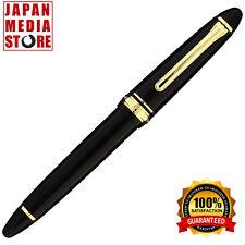 Sailor 1911 Standard Black GT 14K Gold Medium Point Fountain Pen 11-1219-420
