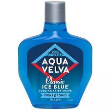 New Aqua Velva Ice Blue Aftershave 7 Oz.