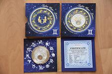 2013 20 rublos bielorrusia estrella caracteres gemelos pp plata/oro gran regalo