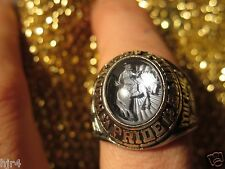1996 Cowboy Rodeo Jostens Class Ring Mountain Pointe Pride High School Arizona