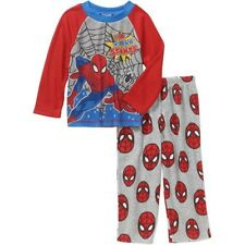Marvel Spider-Man Toddler Boys Long Sleeve Pajama Set Sz 3T