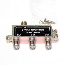 3-Way Splitter 5-900 MHz