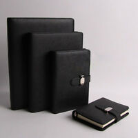 4 colors Personal Pocket Organiser Planner PU Leather Cover Filofax Notebook