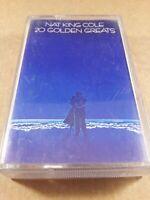 Nat King Cole : 20 Golden Greats : Vintage Tape Cassette Album From 1978
