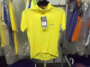 New Yellow Canari Alta Pro Cycling Jersey..Men's Small...Second Quality