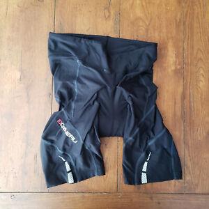 LG Louis Garneau Womens Medium Cycling Shorts Compression Padded M Black