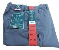 Men's G.H. Bass Stretch Relaxed Fit Canvas Terrain Pants for Hard Service
