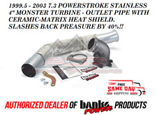 BANKS POWER ELBOW FITS 99.5 -03 FORD F250 7.3 POWERSTROKE 40% LESS BACK PRESSURE