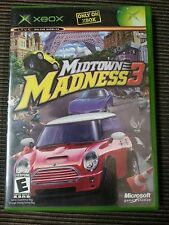 Midtown Madness 3 (Xbox, 2003) Complete Tested Working
