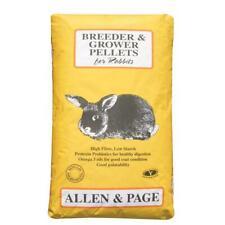 More details for allen & page breeder/grower rabbit pellets 20kg