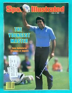 1980 Masters Golf Sports Illustrated - Seve Ballesteros - Augusta National