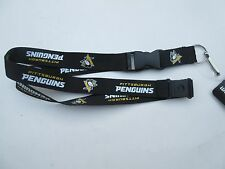 PITTSBURGH PENGUINS LANYARD KEYCHAIN WITH DETACHABLE CLIP