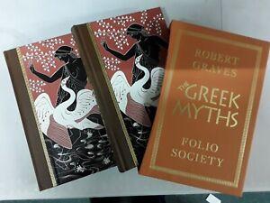 THE GREEK MYTHS I & II  - ROBERT GRAVES - FOLIO SOCIETY