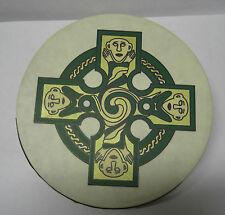 "IRELAND Irish MUSIC 8"" GALLEN CROSS IRELAND Waltons Bodhran Drum Beater 2 Items"