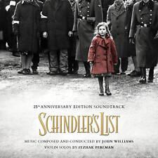 SCHINDLER'S LIST 25th ANNIV. John Williams 2-CD LA-LA LAND Soundtrack Score NEW!