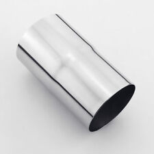 """304 Stainless Steel 2.75"""" OD to 3"""" OD Exhaust Pipe Adapter Reducer Connector"""