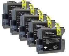5 Tintenpatronen kompatibel mit Brother DCP130C DCP135C MFC235C MFC260c DCP330C