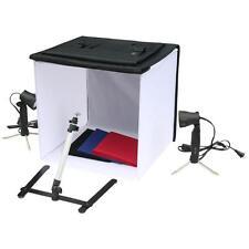Fotostudio Set mit Fotobox 40cm + Lampen + Stativ