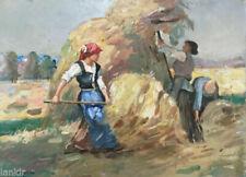 Peintures du XXe siècle et contemporaines à l'huile, sur panneau, sur le paysage