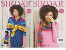 SIRDAR 8029 CROCHETED SHAWL/SCARF ORIGINAL CROCHET PATTERN - COLOURWHEEL