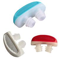 CW_ BL_ Portable Aid Anti-Snoring Stop Nose Air Clean Filter Apparatus Health Ca