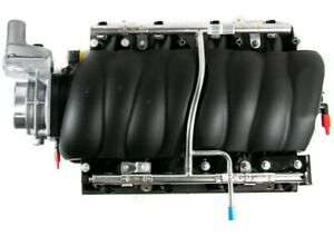 LS3 L92 Intake Manifold Throttle Body Fuel Rails & Injectors NEW GM NOS 12674428