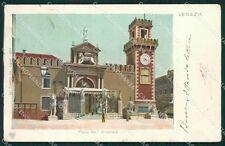 Venezia Città Arsenale STRAPPI cartolina XB2183