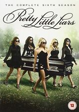 Pretty Little Liars Season 6 DVD Box Set UK Region 2 Brand New and Sealed