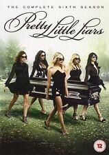 Pretty Little Liars Season 6 DVD Box Set UK Region 2 Brand New and Sealed