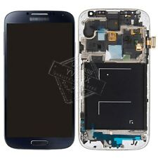 SBI Black Blue for Galaxy S4 GT-i9505 LCD Touch Digitizer Screen w/Frame