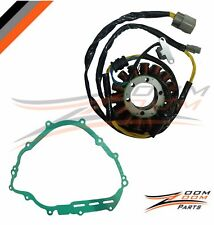 STATOR COIL AND GASKET FITS YAMAHA GRIZZLY 700 YFM700 2007 - 2015 07-15
