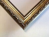 Larson-Juhl Silver Ornate Solid Wood Pictures Frames-Standard Sizes