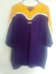 LSU Nike Pullover Short sleeve Purple/Yellow 2 XL