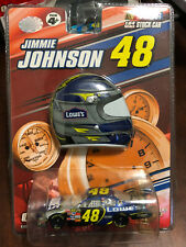 2007 Jimmie Johnson Lowes Helmet & car 1:64 WC Winners Circle