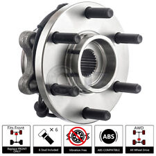 Front Wheel Hub Replacement w/ Bearing Stud ABS For 05-12 Nissan Pathfinder 4WD