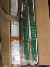 "6 Pk Lewis Hyman 3321236 30"" W x 48"" Cordless Woodgrain PVC Roll Up Patio Blinds"