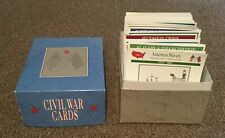 Civil War Cards Box Set-1995 Atlas Editions-Great Condition-hundred of cards