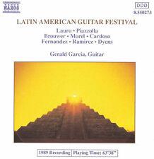 Gerald Garcia - Latin American Guitar Festival [New CD]