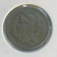 1866 Nickel 3 Cent Piece